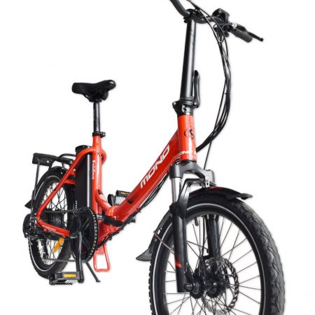 E-mono's Lightweight STEP-THRU Folding Bike-Detail-1
