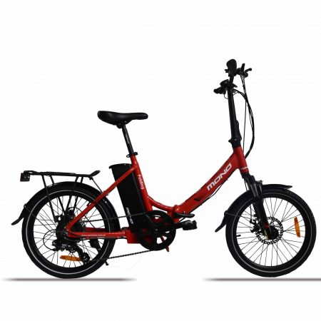 E-mono's Lightweight STEP-THRU Folding Bike SE-20F01