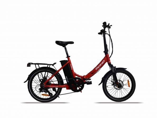 E-mono's Lightweight STEP-THRU Folding Bike SE-20F01