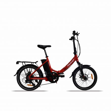 E-mono's Lightweight STEP-THRU Folding Bike-Detail-13