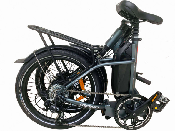 E-mono's Lightweight STEP-THRU Folding Bike SE-20F02