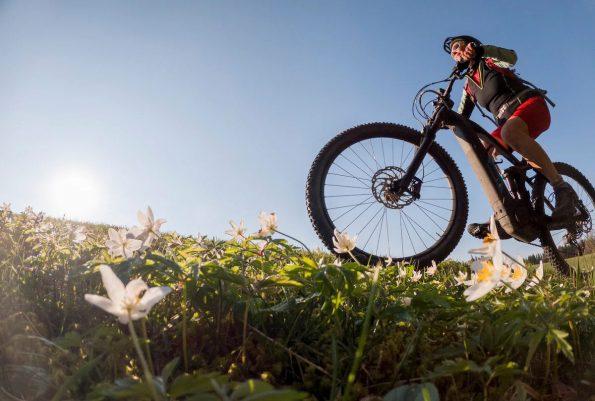 The health benefits of riding e-bikes